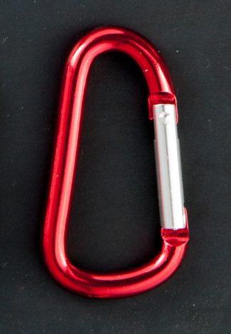 Moschettone piccolo in alluminio colorato - 10pz